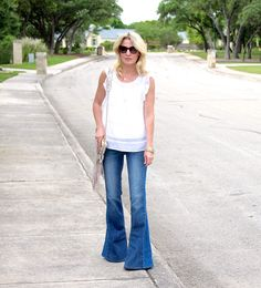 How To Wear Flared Jeans