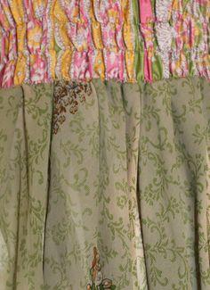 Tube Dress  Vintage silk / Silk Dress / Light by SilkinaFashions