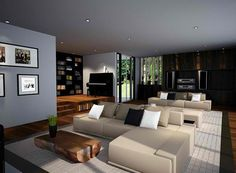 5 Most Relaxing Living Room Designs Inspired By Zen Style White Cushion Of