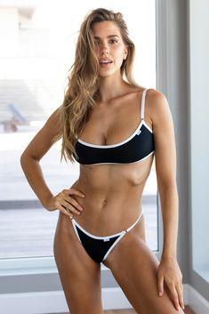 Black Essential Bralet & Briefs – Lounge Underwear Sexy Bikini, Fit Women, Sexy Women, Mädchen In Bikinis, Lounge Underwear, Bikini Bodies, Swimsuits, Swimwear, Mini Bikini