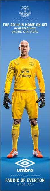 big sale add9d 36fe7 38 Best Everton images in 2014 | Everton, Fo porter, Goalkeeper