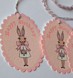 gaddieandtood.typepad.com free printable vintage bunny party supplies