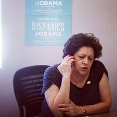 We're excited for this week's launch of Hispanics for Obama in Florida—and so is Katherine Archuleta, national political director for #Obama2012 who made calls in our Tampa office last week to help get ready.