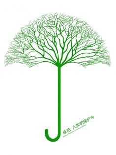 All the best for 2011 ! #Green, #Umbrella