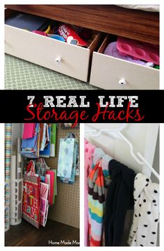 7 storage hacks we use in our house