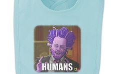 Human Aliens Guy History Meme Baby Bib
