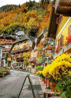 Hallstadt  Austria