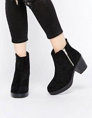 ASOS ROYCE Chunky Ankle Boots