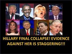 Hillary Final Collapse! Criminal Evidence Is Staggering!! Must See!! - YouTube