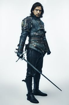 The Musketeers - Luke Pasqualino as D'Artagnan