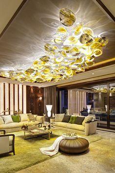 KAGADATO selection. The best in the world. Loft interiors design. **************************************One Park Gubei - Lasvit