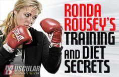 Ronda Rousey's Training and Diet Secrets / Muscular Development Store #armbarnation