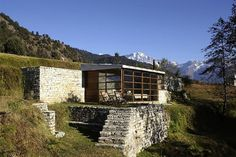 The 360° Leti luxury travel spot in the Bageshwar district of the Himalayas, rented out by Shakti Tours Pvt. Ltd.
