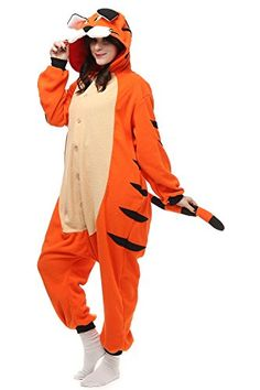 Janecrafts New Kigurumi Pajamas Anime Cosplay Costume Unisex Adult Onesie Dress XL Panda * Details can be found by clicking on the image.