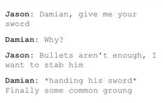 {{ why doesnt Jason want to stab?: The Birthday pinata. Im Batman, Batman Robin, Birthday Pinata, Nananana Batman, Red Hood Jason Todd, Bat Boys, Nerd, Common Ground, Dc Memes