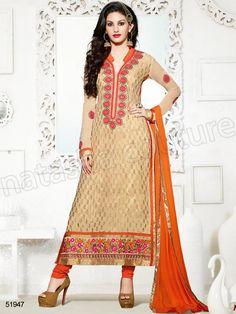 #Designer Staright Suits#Indian Wear#Desi Fashion #Natasha Couture#Indian Ethnic Wear# Salwar Kameez#Indian Suit#