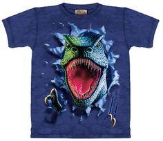 """Si le fascinan los Dinosaurios, esta camiseta de """"Tiranosaurio Rex Destructor"""" no puede faltar en su fondo de armario ... ;-) Ref. 30131 Precio: 18.00 € IVA incluido"""