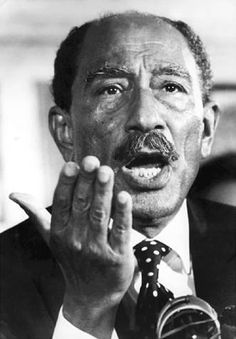 Anwar Sadat Black African American, African American History, President Of Egypt, Farah Diba, Comedy, Old Egypt, Black And White Aesthetic, World Leaders, Lady
