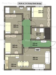 3d House Plans, Modern House Floor Plans, Model House Plan, House Layout Plans, Cabin Plans, Small House Plans, House Layouts, Modern House Design, Floor Plan Creator
