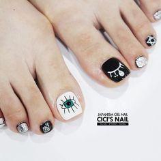 UV gel: the good tips for choosing it - My Nails Feet Nail Design, Toe Nail Designs, Pedicure Nail Art, Toe Nail Art, Hair And Nails, My Nails, Asian Nails, Feet Nails, Nail Trends
