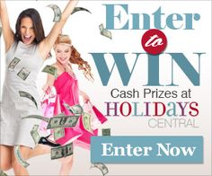 Holidays Central: Enter to Win Sweepstakes | Ends 4.10.2014