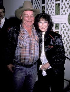 Loretta Lynn, 15, and Oliver Lynn, 21  Despite writing in her autobiography Coal Miner's Daughter that she married husband Oliver Lynn, 21, when she was just 13, recent documents reveal she was actually 15 going on 16 when they wed (still young but not quite as scandalous).