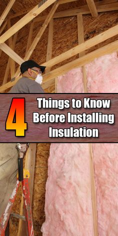 A Few Things to Know Before Installing Insulation - Mr. DIY Guy - 4 Things to Know Before Installing Insulation – Mr. DIY Guy Best Picture For de -