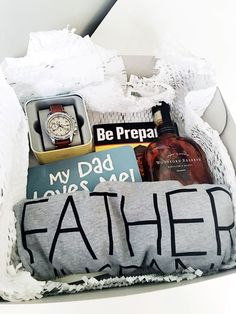A thank you gift for a new dad.                                                                                                                                                                                 More