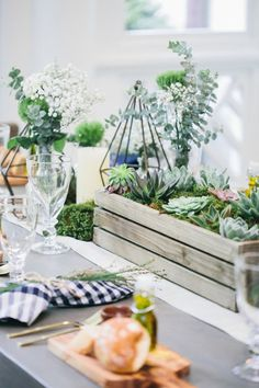 Rustic Chic Outdoor Dinner Party from Fashionable Hostess