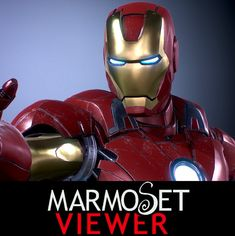 Marmoset Viewer  FanArt - IRONMAN MarkVII, YOSUKE ISHIKAWA on ArtStation at https://www.artstation.com/artwork/ironman-f6fbdfd7-5ce4-4296-9025-65df4aa204f6