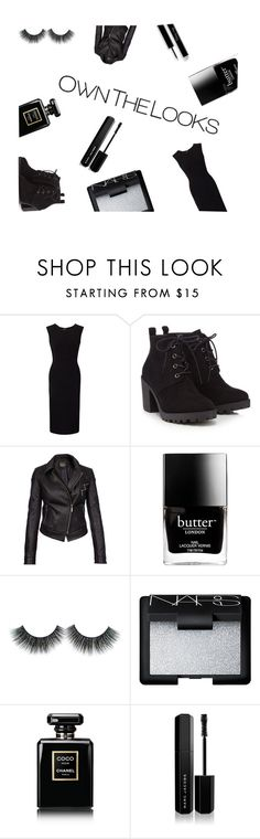 """Own the looks"" by tjedge ❤ liked on Polyvore featuring Roland Mouret, Red Herring, Barbour International, Butter London, NARS Cosmetics, Chanel and Marc Jacobs"