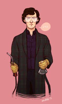 Sherlock : Sherlock you look so stupid - Andells