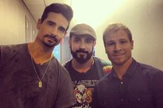 The daily Beast interview with Brian Littrell, AJ McLean and Kevin Richardson of the Backstreet Boys.