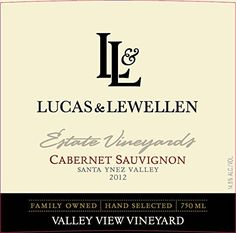 2012 Lucas  Lewellen Cabernet Sauvignon  Valley View Vineyard 750 mL Wine -- Find out more about the great product at the image link.