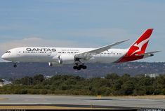 Arriving as QF10 from London on Qantas' new direct direct PER-LHR route. - Photo taken at Perth (PER / YPPH) in Western Australia, Australia on March 30, 2018.