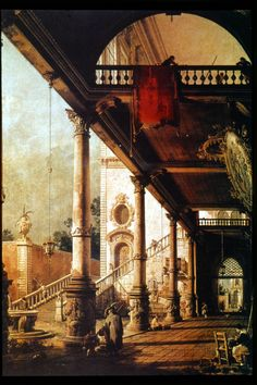 Canaletto (late 1700s) olive the detail and the colour and crispness.