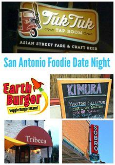 Foodie dates in San Antonio