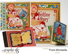 Mother Goose card by Yumi #graphic45