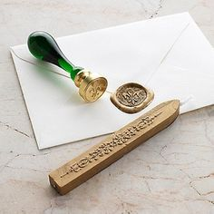 Sealing Wax A concept borrowed from Medieval days a signature