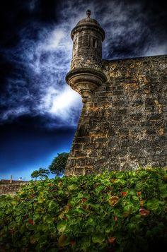 La Garita del Morro, Old San Juan, Puerto Rico
