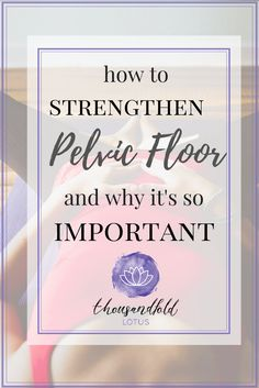 Learn how to strengthen the pelvic floor and if you are doing it correctly! - Learn how to strengthen the pelvic floor and if you are doing it correctly! Pilates Training, Pilates Workout, Baby Workout, Pilates Reformer, Strengthen Pelvic Floor Exercises, Exercises After Hysterectomy, Bladder Exercises, Post Natal Pilates, Bladder Prolapse