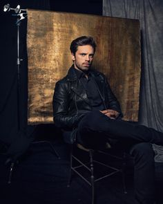 """2 New portraits of Sebastian Stan from #TIFF ! These are great. #SebastianStan"""