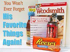 "Amazing ""favorite things"" gift idea!  #favoritethings #datingdivas"