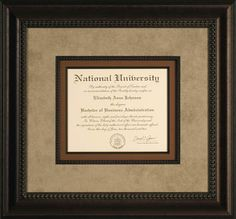 Graduation is a great reason to custom frame. Remember your great accomplishment by framing your diploma at Framing & Art Centre!