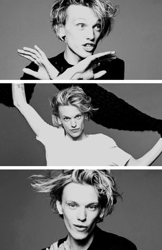 Our Jace, Jamie C. Bower - can you say cheekbones?
