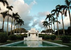 Oahu Hawaii temple. Great people. Beautiful grounds. We found frogs on the grounds that were smaller than my pinky nail.