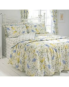 Country Diary Viola Duvet Cover Set | House of Bath. I have this, beautiful.