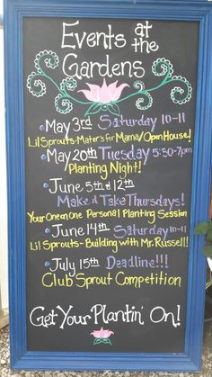 Come one come all, events at SRG this spring 2014