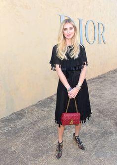 Chiara Ferragni at Christian Dior Cruise 2018 Show and After Party at Gladstone's Malibu on May 11 2017 in Malibu California