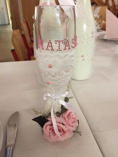 Mormor havde lavet glas til konfirmanden